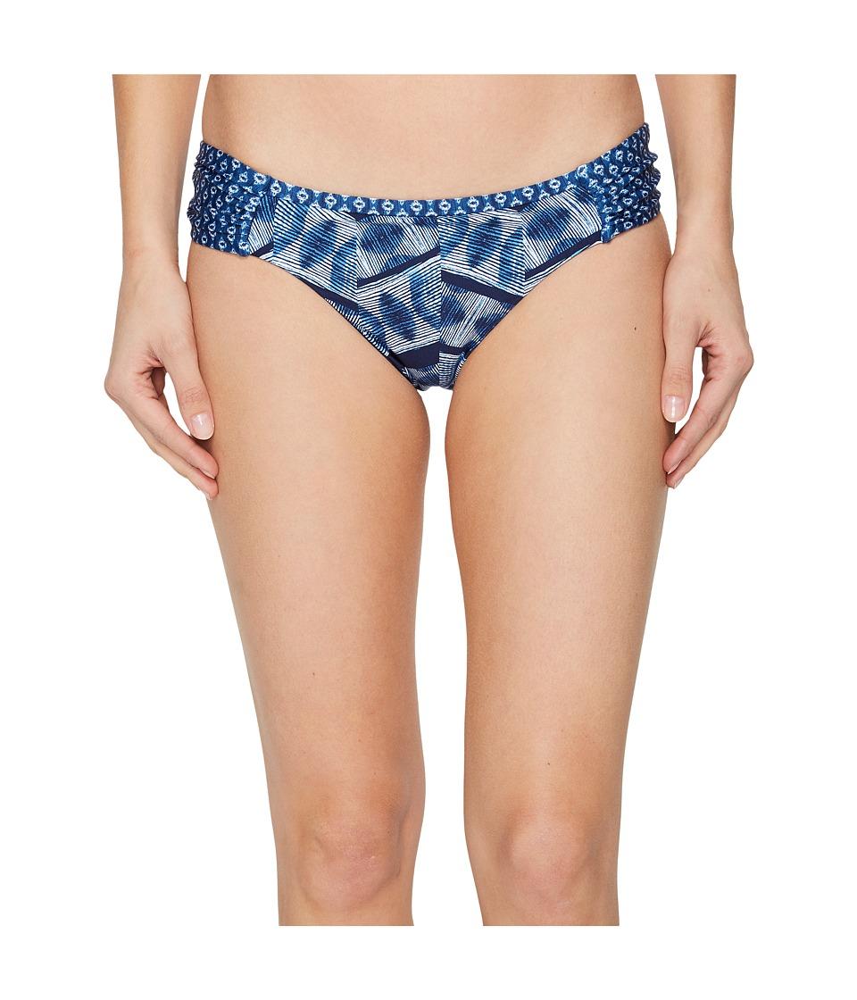 Lucky Brand Nomad Ikat Reversible Side Sash Hipster Bottom (Navy) Women