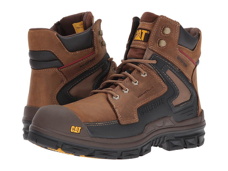 Caterpillar Chassis Waterproof Composite Toe (Dark Beige) Men