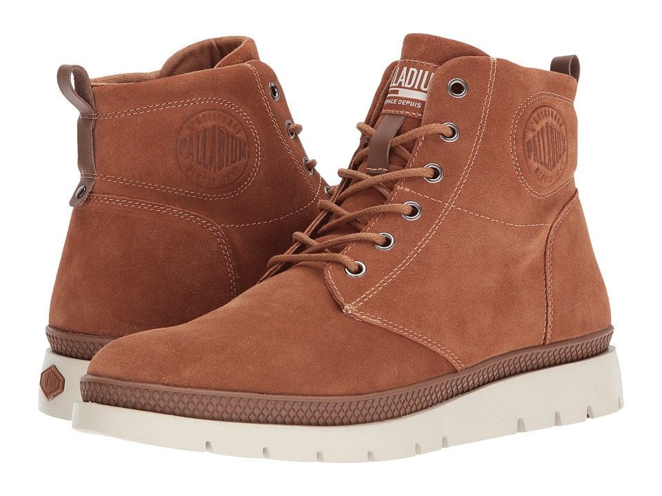 Palladium Pallasider Mid Sue (Ocra/Toffee) Men
