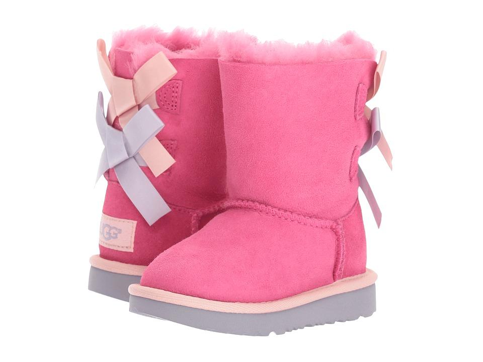 Ugg Kids - Bailey Bow II (Toddler/Little Kid) (Pink Azale...