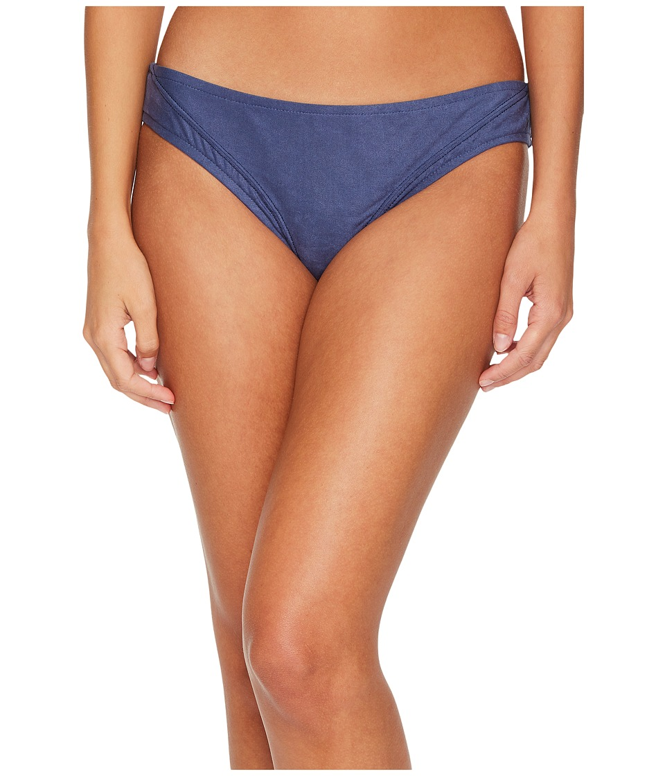 Lucky Brand Suede with Me Hipster Bottom (Denim) Women