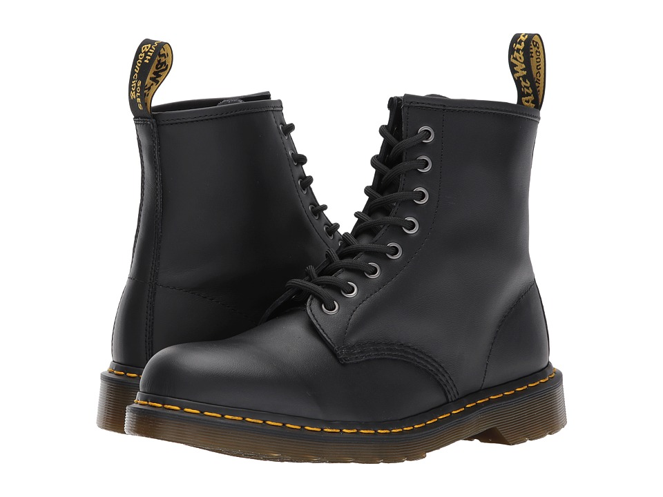 One of the most respected and well-know icons in the world, Dr. Martens' boots, shoes, work shoes, and sandals continue to set the standard for durability, comfort and fashion. Dr. Martens's trademark look and quality construction has been recognized world-wide since