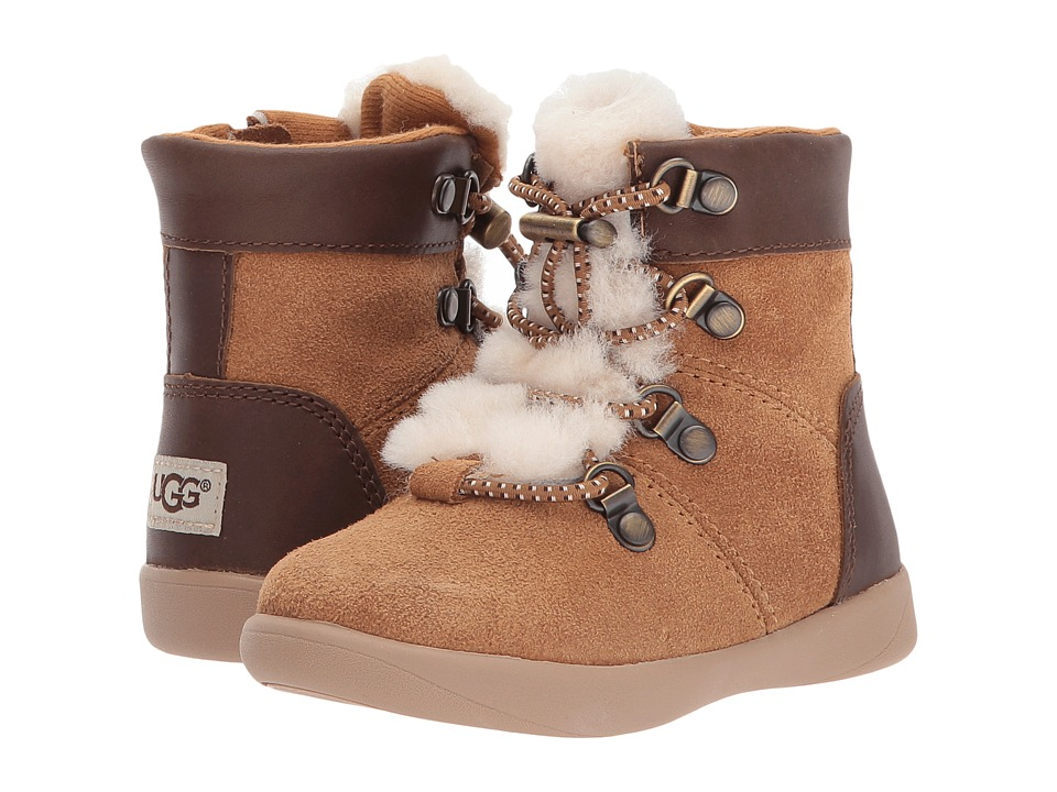 UGG Kids Ager (Toddler/Little Kid) (Chestnut) Kid's Shoes