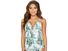 Lucky Brand Indian Summer Plunge Tankini Top