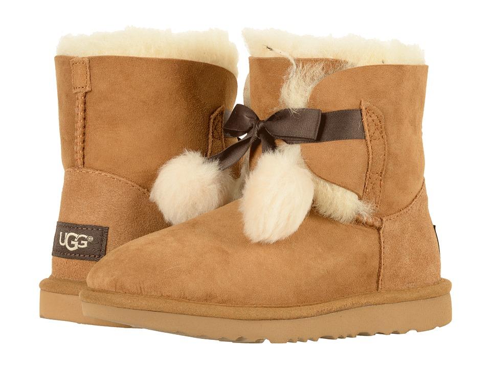 UGG Kids Gita (Little Kid/Big Kid) (Chestnut) Girls Shoes