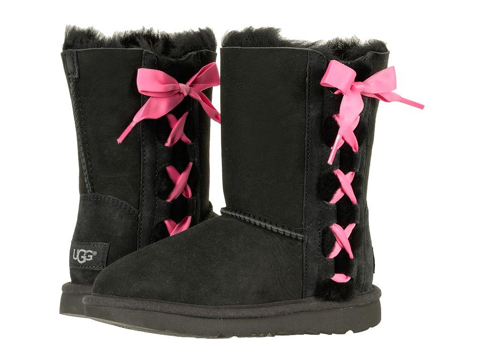 UGG Kids Pala (Little Kid/Big Kid) (Black) Girls Shoes