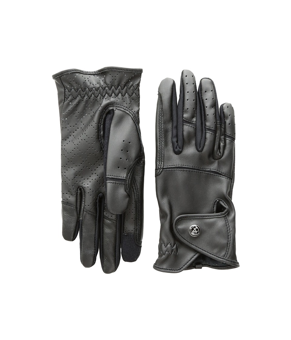 Ariat Elite Grip Gloves (Black) Ski Gloves