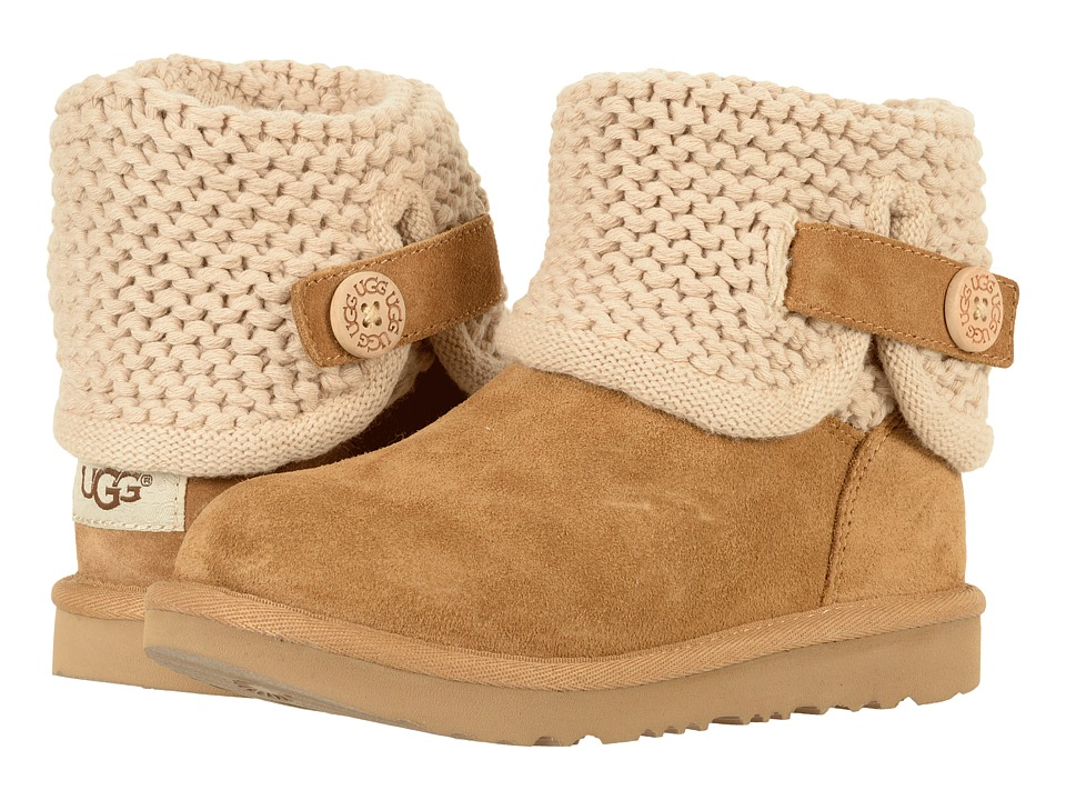 UGG Kids Darrah II (Little Kid/Big Kid) (Chestnut) Girls Shoes