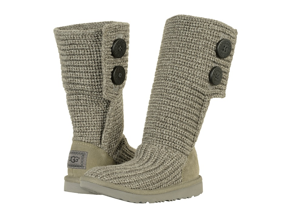UGG Kids Cardy II (Toddler/Little Kid/Big Kid) (Grey) Girls Shoes