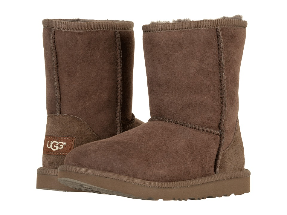 UGG Kids Classic II (Little Kid/Big Kid) (Chocolate) Kids Shoes