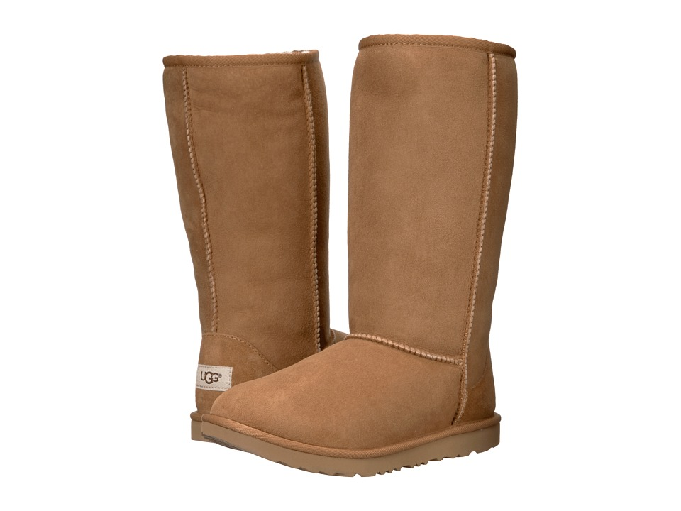Ugg Kids - Classic Tall II (Little Kid/Big Kid) (Chestnut...