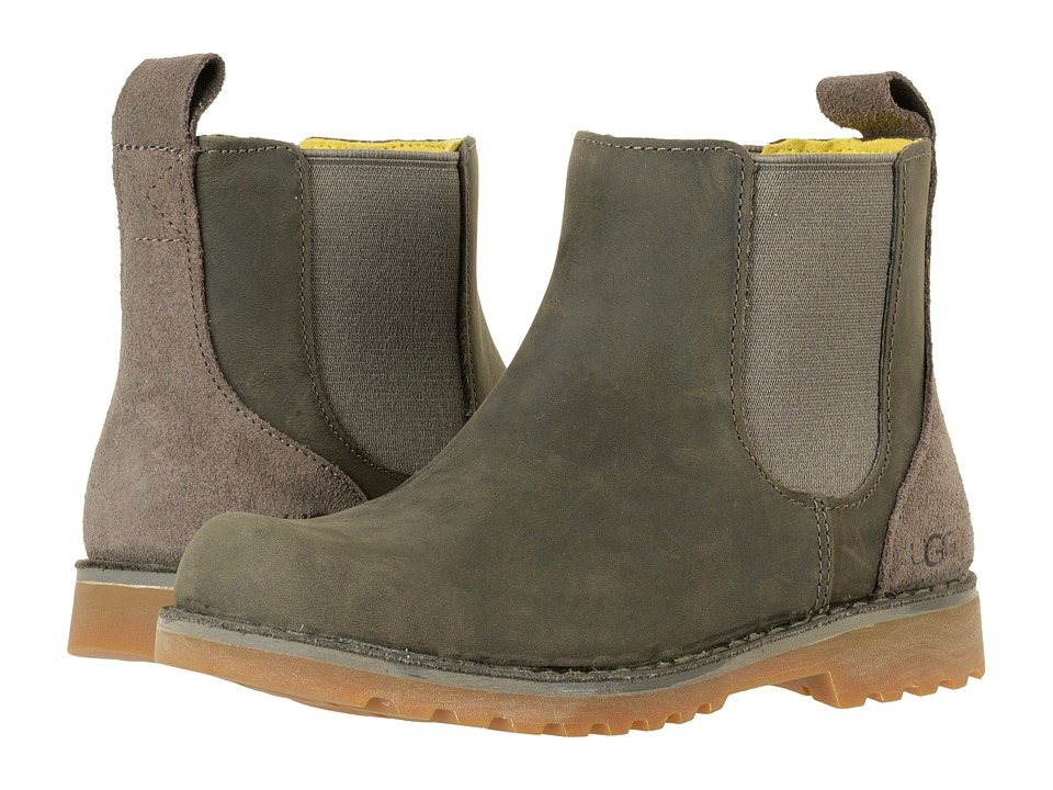 UGG Kids Callum (Little Kid/Big Kid) (Charcoal) Kids Shoes