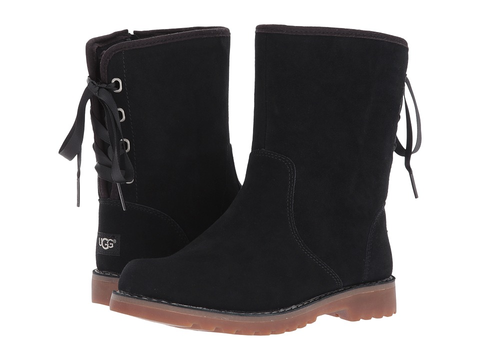 UGG Kids Corene (Little Kid/Big Kid) (Black) Girls Shoes
