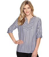 Ivanka Trump - Long Sleeve Woven Pullover Top