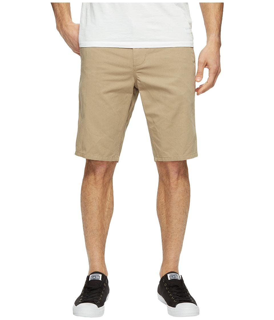 Obey Straggler Shorts (Khaki) Men