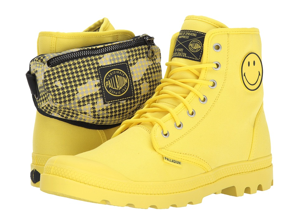 Palladium Pampa Fest Pack (Blazing Yellow) Athletic Shoes