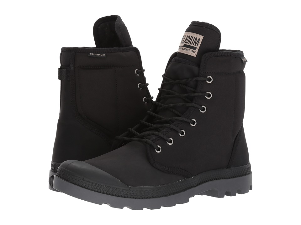 Palladium Pampa Solid Ranger TP (Black) Athletic Shoes