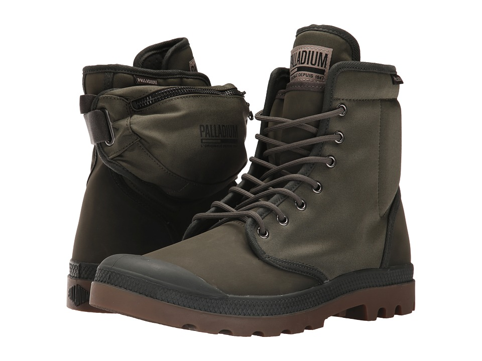 Palladium Pampa Solid Ranger TP (Army Green/Beluga) Athletic Shoes