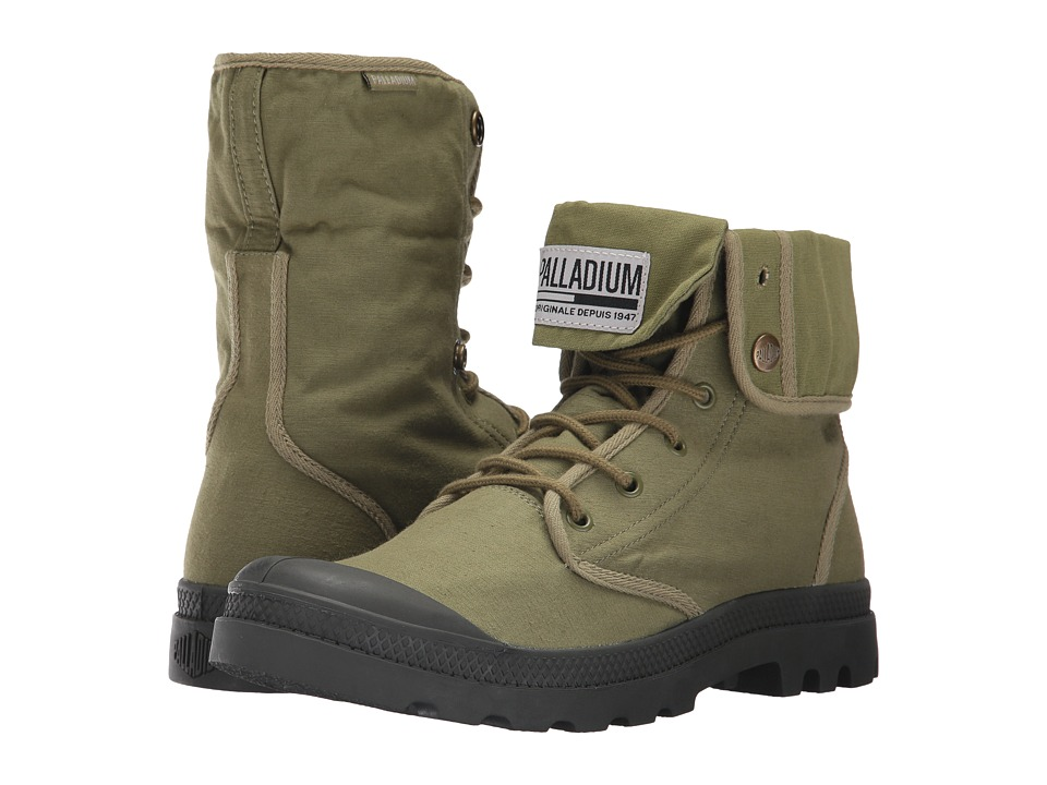 Palladium Baggy Army TRNG Camp (Olive Drab/Beluga) Athletic Shoes