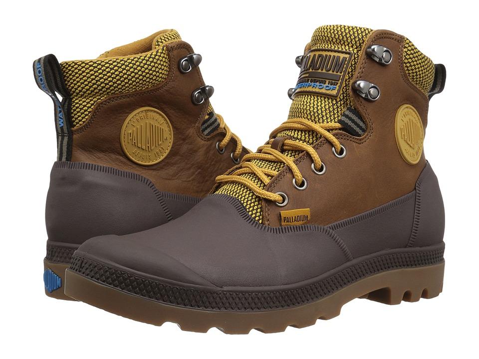 Palladium Sport Cuff WP 2.0 (Amber Gold/Chocolate) Athletic Shoes