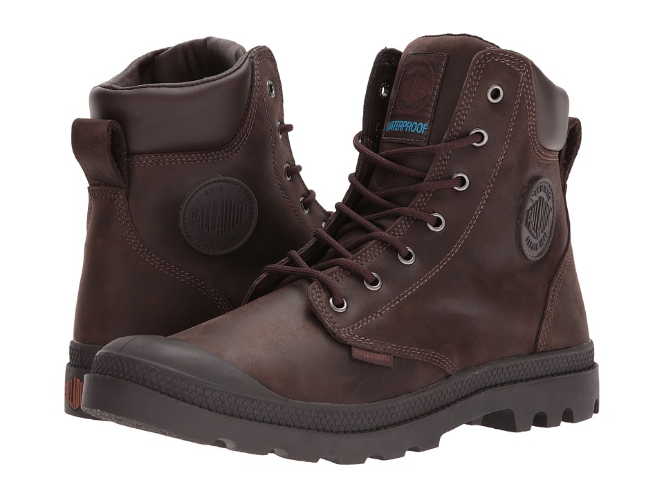 Palladium Pampa Cuff WP Lux (Chocolate) Boots