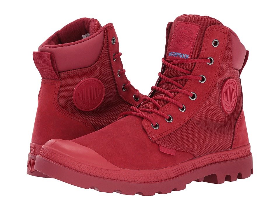 Palladium Pampa Sport Cuff WPN (Chevron/Rio Red) Boots