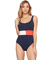 Tommy Hilfiger - Retro Flag Flag Color Block One-Piece
