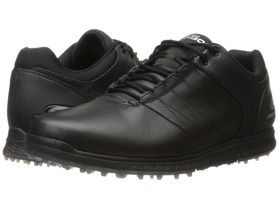 SKECHERS Go Golf Elite 2 (Black/Silver) Men