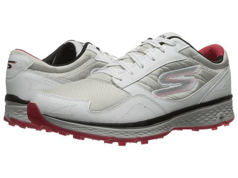 SKECHERS Go Golf Fairway - White/Black/Red