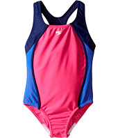 Speedo Kids - Mesh Splice Thick Strap One-Piece Swimsuit (Big Kids)