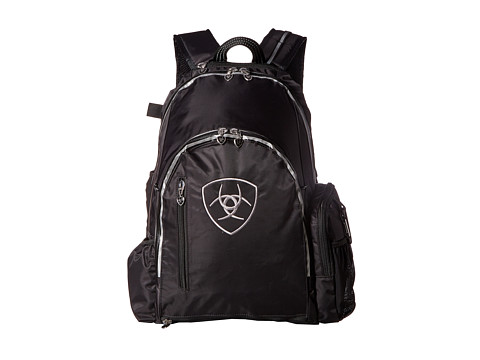 Ariat Ring Backpack - Black/Gray