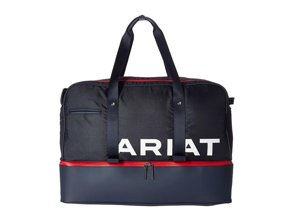 Ariat Grip Bag (Navy/Red) Duffel Bags