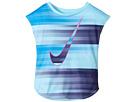 Nike Kids - Speed Blur Swoosh Modern Tee (Toddler)