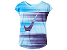 Nike Kids - Speed Blur Swoosh Modern Tee (Little Kids)
