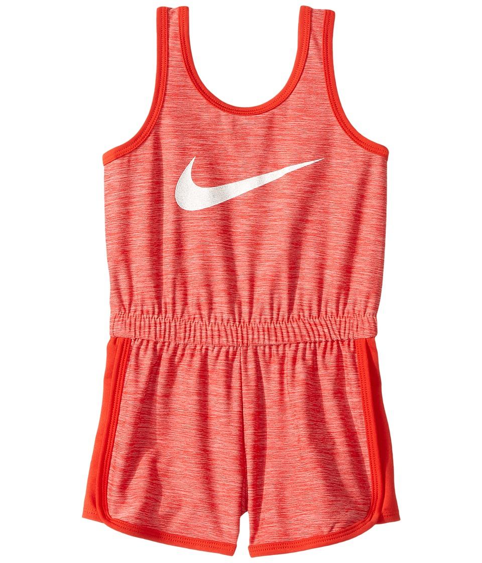 Nike Kids - Dri-Fit Sport Essentials Romper (Toddler) (Br...