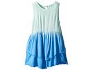 Dip-Dye Frayed Edges Dress (Toddler)