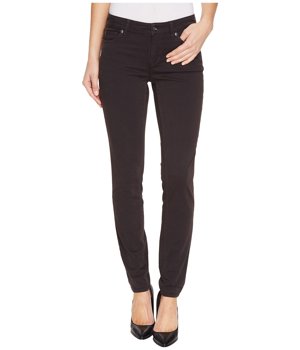 TWO by Vince Camuto - Stretch Sateen Five-Pocket Skinny Jeans in Dark Shale
