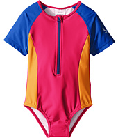 Speedo Kids - Short Sleeve Zip One-Piece Swimsuit (Infant/Toddler)