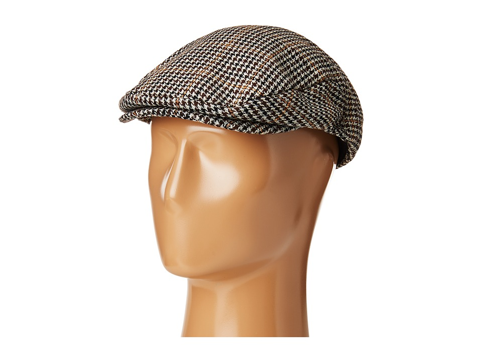 1930s Style Mens Hats Brixton - Hooligan Snap Cap BrownTan Caps $39.00 AT vintagedancer.com