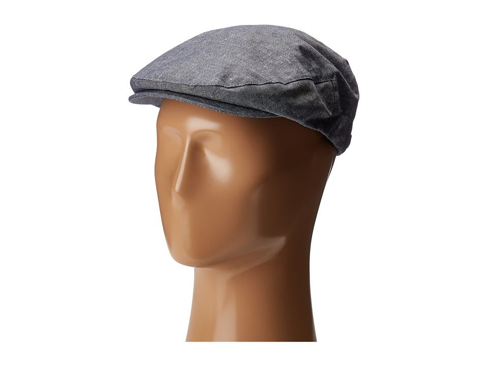 1930s Mens Hat Fashion Brixton Snap Cap Light Blue Caps $39.00 AT vintagedancer.com