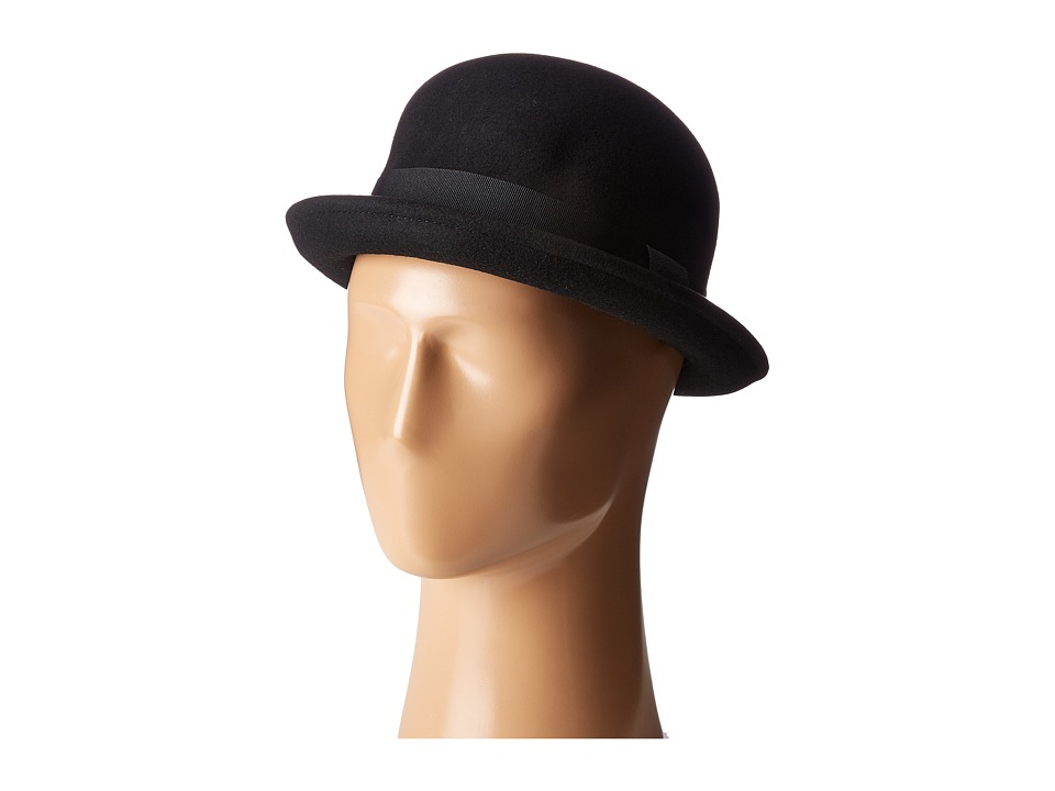 Men's Victorian Costume and Clothing Guide Brixton - Pack Hat Black Traditional Hats $56.00 AT vintagedancer.com