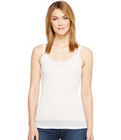 Michael Stars - Front To Back Lace Edge Layering Tank Top
