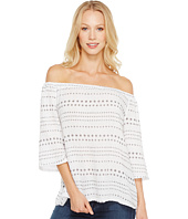 Michael Stars - Daisy Print Double Gauze Off Shoulder