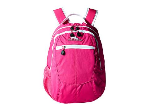 High Sierra Curve Backpack - Flamingo/White