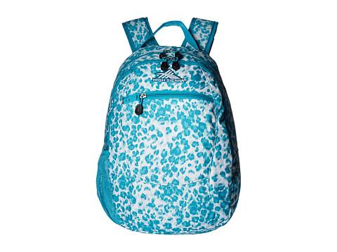High Sierra Curve Backpack - Tropic Leopard/Tropic Teal