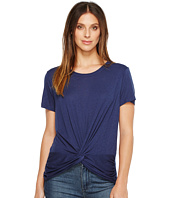 Michael Stars - Slub Short Sleeve Crew Neck with Twist