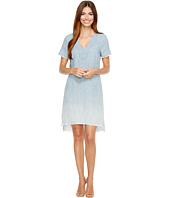 Michael Stars - Linen Denim Tencel Split-Neck Dress