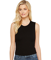 Michael Stars - 2X1 Rib Cropped Crew Neck Tank Top