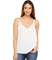 Michael Stars - V-Neck Strappy Tank Top w/ Crochet