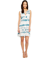 Michael Stars - Shibori Print Pleat Front Dress